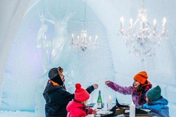 Les meilleurs hôtels de glace Finlandais